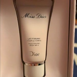 Mini miss Dior body cream and fragrance